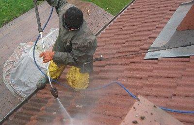 Tvatt av tak